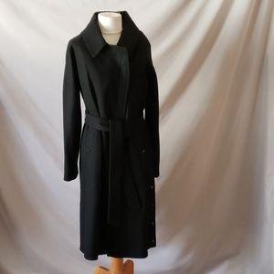 Marc New York Black Wool Midi Coat